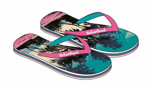 Urban Beach Sandalen Damen -Surfside FW767 Gr. 35 - 41 Nr.RE41